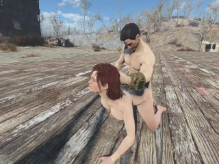 Fallout 4 – Cait held hostage by Nate